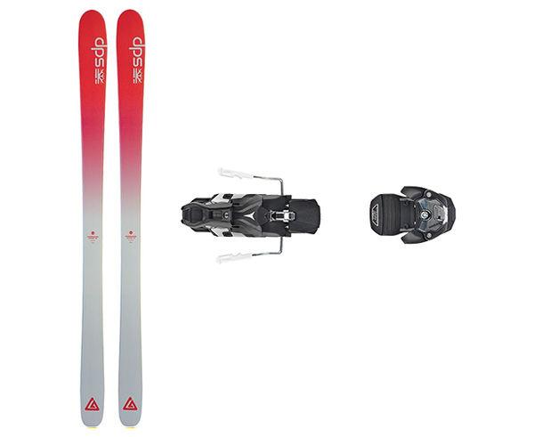 Esquís+Fixacions Marca DPS Per . Activitat esportiva Freeski, Article: FOUNDATION CASSIAR 87 + WARDEN MNC 13 115MM.