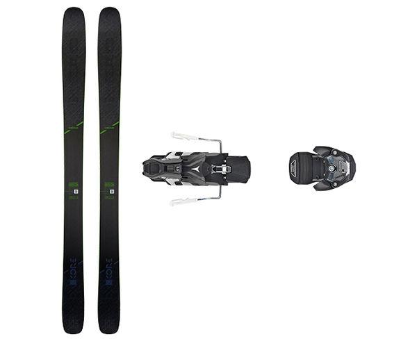 Esquís+Fixacions Marca HEAD Per . Activitat esportiva Freeski, Article: KORE 105 + WARDEN MNC 13 115MM.