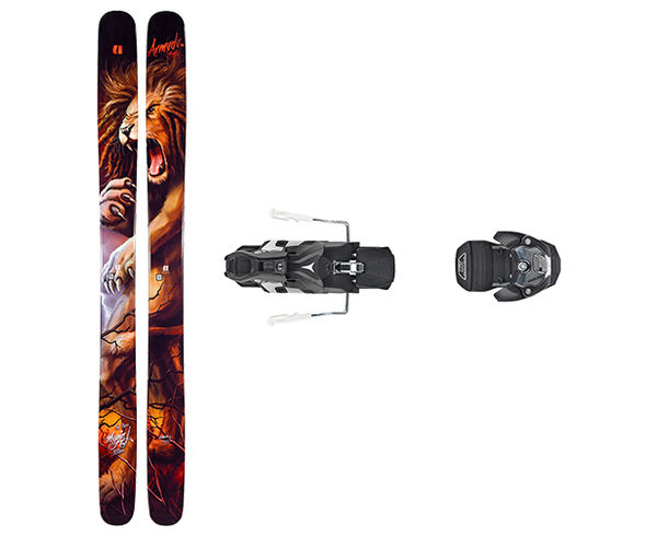Esquís+Fixacions Marca ARMADA Per . Activitat esportiva Freeski, Article: MAGIC J + WARDEN MNC 13 100MM.