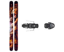 Esquís+Fixacions Marca ARMADA Per . Activitat esportiva Freeski, Article: MAGIC J + WARDEN MNC 13 115MM.