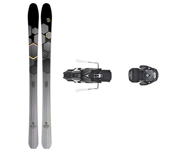 Esquís+Fixacions Marca ICELANTIC Para . Actividad deportiva Esquí All Mountain, Artículo: SABRE 89 + WARDEN MNC 13 115MM.