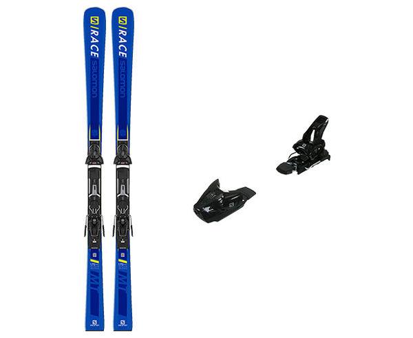 Esquís+Fixacions Marca SALOMON Per . Activitat esportiva Esquí All Mountain, Article: E S/RACE MT + Z10 GW L80.