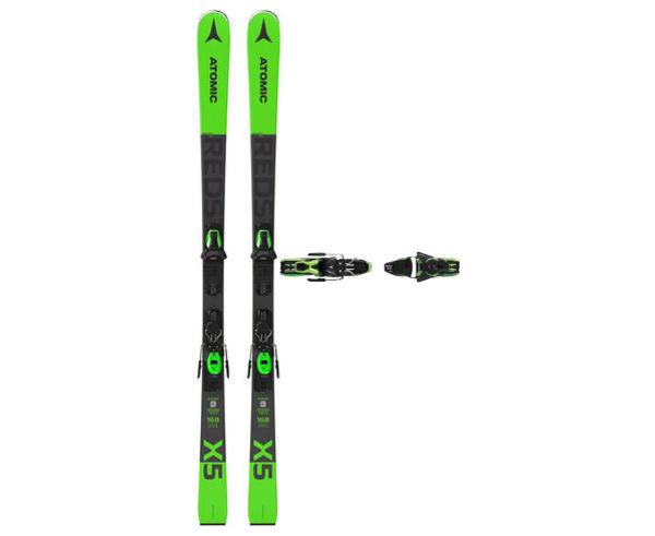 Esquís+Fixacions Marca ATOMIC Per . Activitat esportiva Esquí Race FIS, Article: REDSTER X5 + FT 10 GW.
