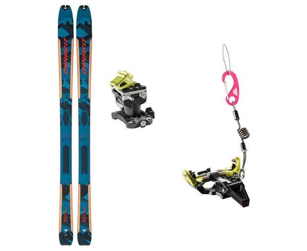 Esquís+Fixacions Marca DYNAFIT Per . Activitat esportiva Esquí Muntanya, Article: SEVEN SUMMITS PLUS + TLT SPEED RADICAL.