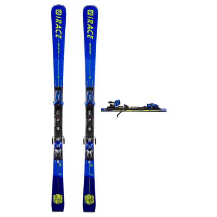 Esquís+Fixacions Marca SALOMON Per . Activitat esportiva Esquí Race FIS, Article: X S/RACE RUSH SL + X12 TL GW.