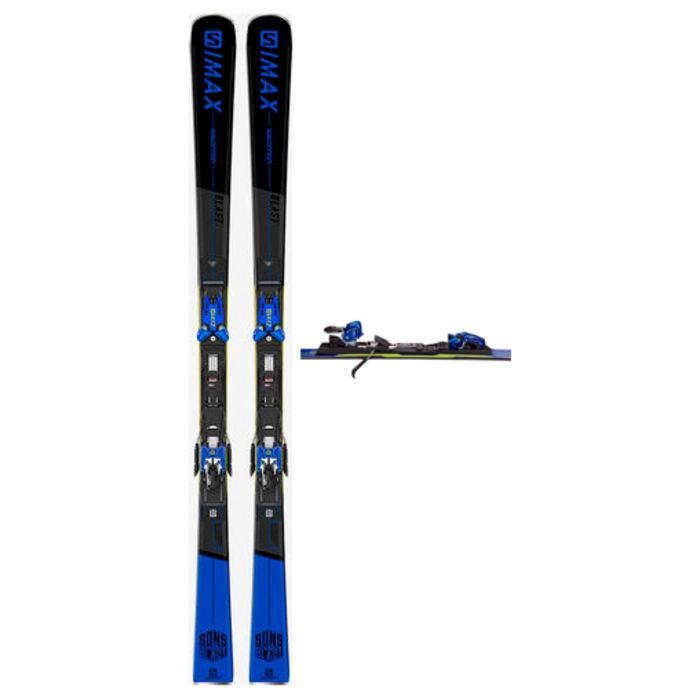Esquís+Fixacions Marca SALOMON Per . Activitat esportiva Esquí All Mountain, Article: X S/MAX BLAST + X12 TL GW.