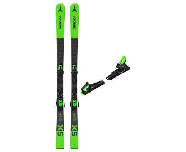 Esquís+Fixacions Marca ATOMIC Per . Activitat esportiva Esquí Race FIS, Article: REDSTER X5 + M 10 GW.