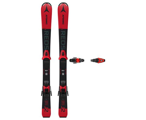 Esquís+Fixacions Marca ATOMIC Per . Activitat esportiva Esquí All Mountain, Article: REDSTER J2 100-120 + C 5 GW.
