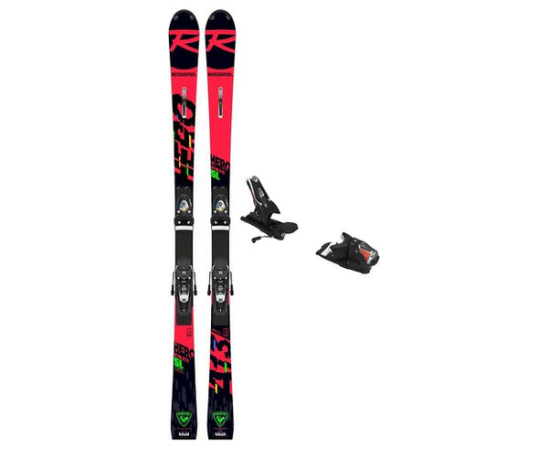 Esquís+Fixacions Marca ROSSIGNOL Para . Actividad deportiva Esquí Race FIS, Artículo: HERO ATHLETE FIS SL (R22) + SPX 12 ROCKERACE.