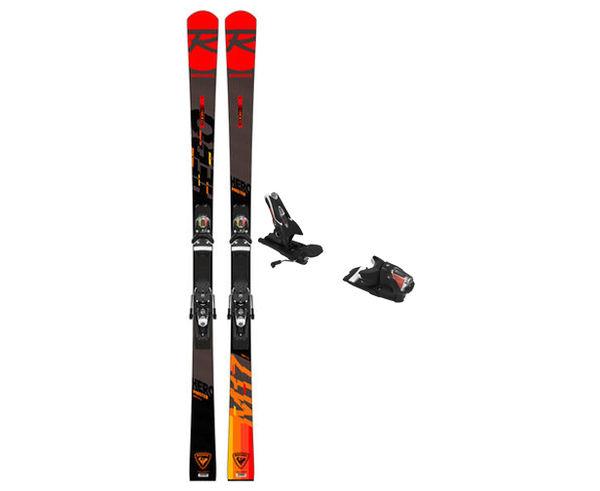 Esquís+Fixacions Marca ROSSIGNOL Para . Actividad deportiva Esquí Race FIS, Artículo: HERO MASTER (R22) + SPX 12 ROCKERACE.