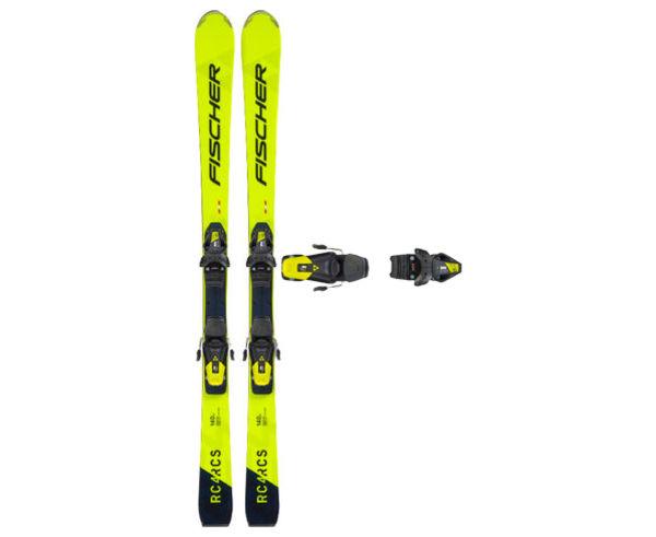 Esquís+Fixacions Marca FISCHER Per . Activitat esportiva Esquí All Mountain, Article: RC4 RCS JR + RC4 Z9 GW.