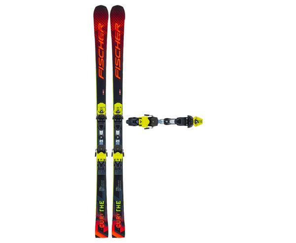 Esquís+Fixacions Marca FISCHER Per . Activitat esportiva Esquí Race FIS, Article: RC4 THE CURV + RC4 Z13 FREEFLEX.