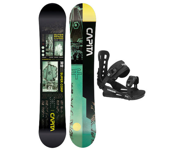 Taules+Fixacions Marca CAPITA Per . Activitat esportiva Snowboard, Article: OUTERSPACE LIVING WIDE + DLX.