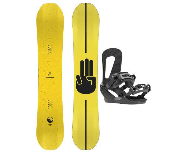 Taules+Fixacions Marca BATALEON Per . Activitat esportiva Snowboard, Article: CHASER WIDE + CHASER.