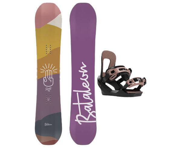 Taules+Fixacions Marca BATALEON Per . Activitat esportiva Snowboard, Article: SPIRIT + SPIRIT.