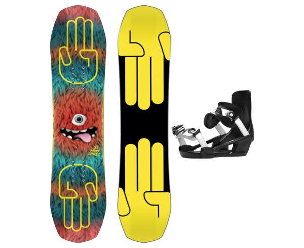 Taules+Fixacions Marca BATALEON Per . Activitat esportiva Snowboard, Article: MINISHRED + MINISHRED.
