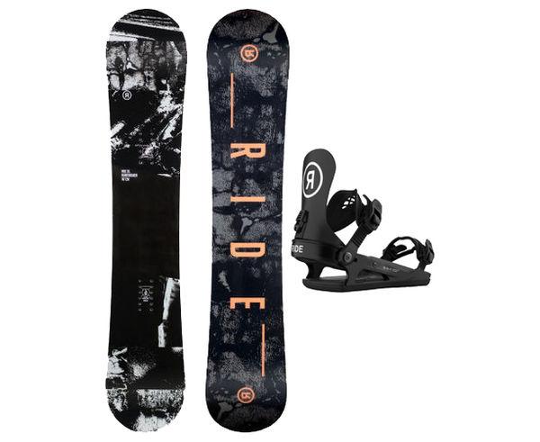 Taules+Fixacions Marca RIDE SNOWBOARDS Per . Activitat esportiva Snowboard, Article: HEARTBREAKER + CL-2.