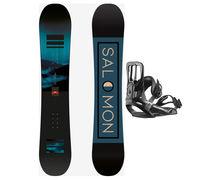 Taules+Fixacions Marca SALOMON SNOWBOARDS Per . Activitat esportiva Snowboard, Article: PULSE WIDE + MAKER.