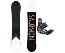 Taules+Fixacions Marca SALOMON SNOWBOARDS Per . Activitat esportiva Snowboard, Article: SIGHT + RHYTHM.