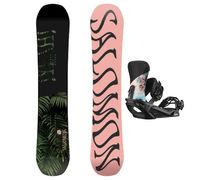 Taules+Fixacions Marca SALOMON SNOWBOARDS Per . Activitat esportiva Snowboard, Article: OH YEAH + VENDETTA.