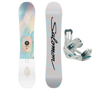 Taules+Fixacions Marca SALOMON SNOWBOARDS Per . Activitat esportiva Snowboard, Article: LOTUS LTD + SPELL.