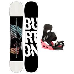 Taules+Fixacions Marca BURTON Per . Activitat esportiva Snowboard, Article: INSTIGATOR WIDE + FREESTYLE.