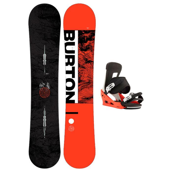 Taules+Fixacions Marca BURTON Per . Activitat esportiva Snowboard, Article: RIPCORD WIDE + FREESTYLE.