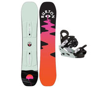 Taules+Fixacions Marca BURTON Per . Activitat esportiva Snowboard, Article: YESSAYER SMALLS + KID SMALL.