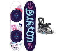 Taules+Fixacions Marca BURTON Per . Activitat esportiva Snowboard, Article: CHICKLET + GROM.