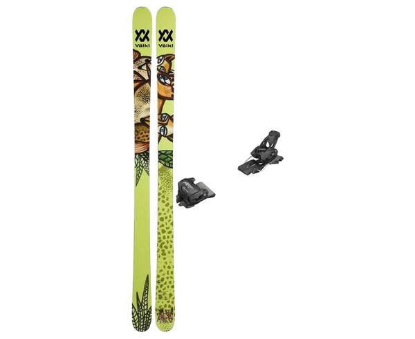 Esquís+Fixacions Marca VÖLKL Para . Actividad deportiva Freeski, Artículo: REVOLT 87 + ATTACK 13 GW.