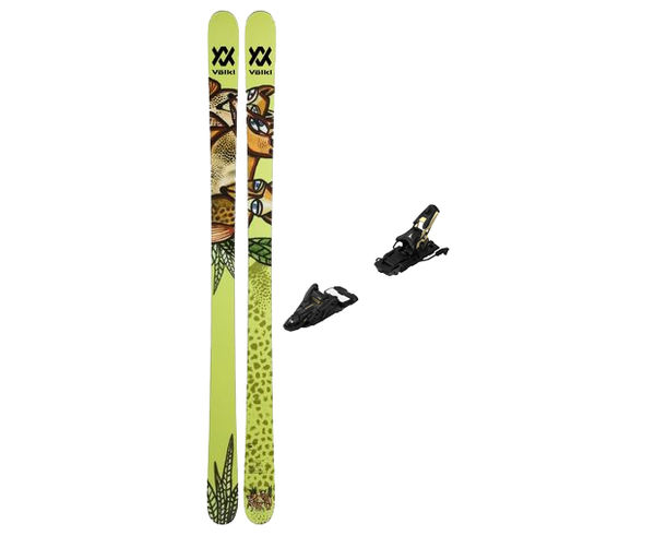 Esquís+Fixacions Marca VÖLKL Para . Actividad deportiva Freeski, Artículo: REVOLT 87 + N SHIFT 13 MNC 110.