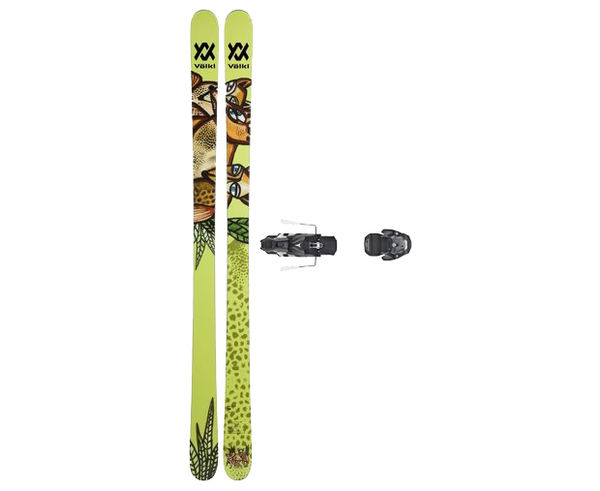 Esquís+Fixacions Marca VÖLKL Para . Actividad deportiva Freeski, Artículo: REVOLT 87 + WARDEN MNC 13 130.