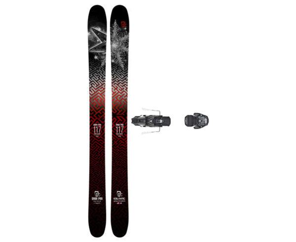 Esquís+Fixacions Marca ICELANTIC Para . Actividad deportiva Freeski, Artículo: SABA 117 + WARDEN MNC 13 130.