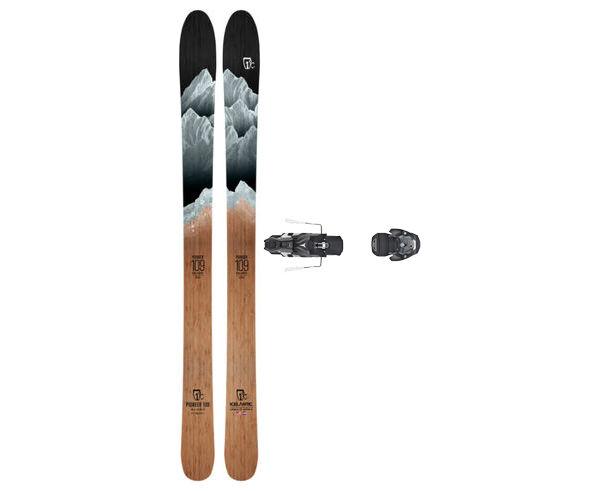 Esquís+Fixacions Marca ICELANTIC Para . Actividad deportiva Freeski, Artículo: PIONEER 109 + WARDEN MNC 13 130.