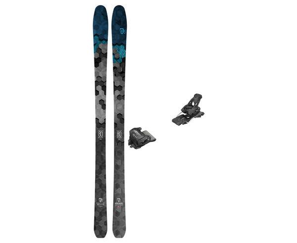 Esquís+Fixacions Marca ICELANTIC Para . Actividad deportiva Freeski, Artículo: SABRE 80 + ATTACK 13 GW.
