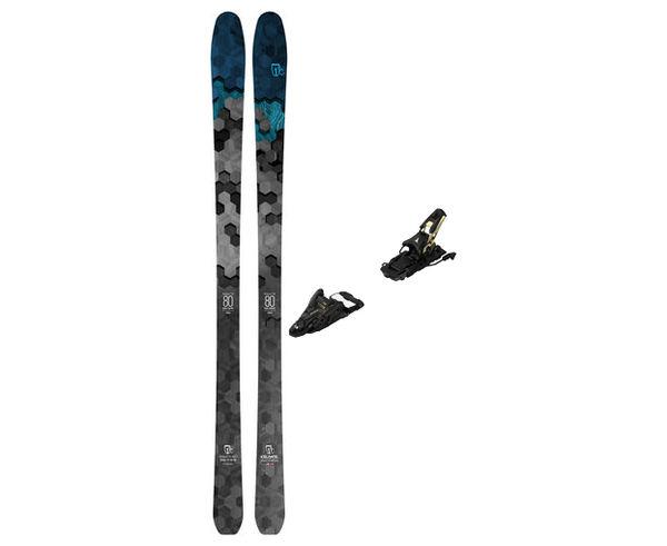 Esquís+Fixacions Marca ICELANTIC Para . Actividad deportiva Freeski, Artículo: SABRE 80 + N SHIFT 13 MNC 120.