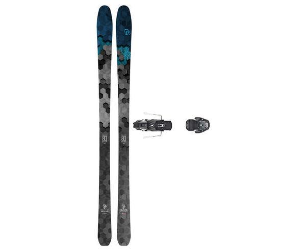 Esquís+Fixacions Marca ICELANTIC Para . Actividad deportiva Freeski, Artículo: SABRE 80 + WARDEN MNC 13 130.