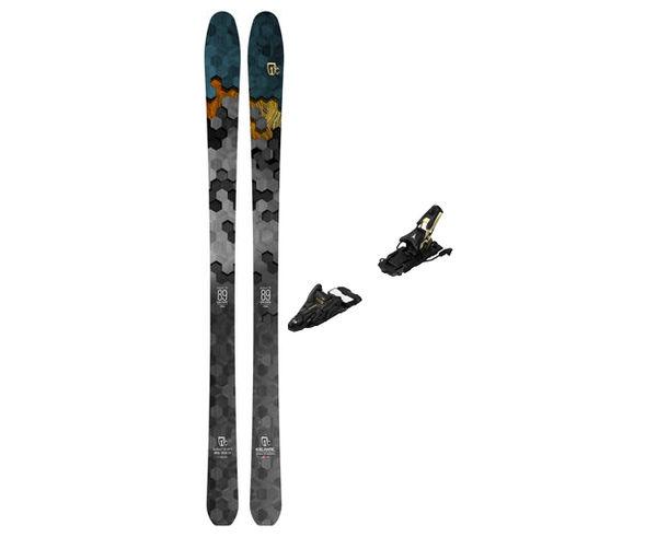 Esquís+Fixacions Marca ICELANTIC Para . Actividad deportiva Freeski, Artículo: SABRE 89 + N SHIFT 13 MNC 120.