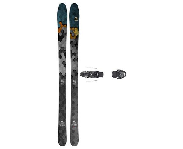 Esquís+Fixacions Marca ICELANTIC Para . Actividad deportiva Freeski, Artículo: SABRE 89 + WARDEN MNC 13 100.