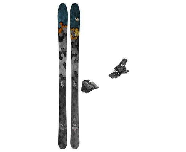 Esquís+Fixacions Marca ICELANTIC Para . Actividad deportiva Freeski, Artículo: NOMAD LITE9 + ATTACK 13 GW.