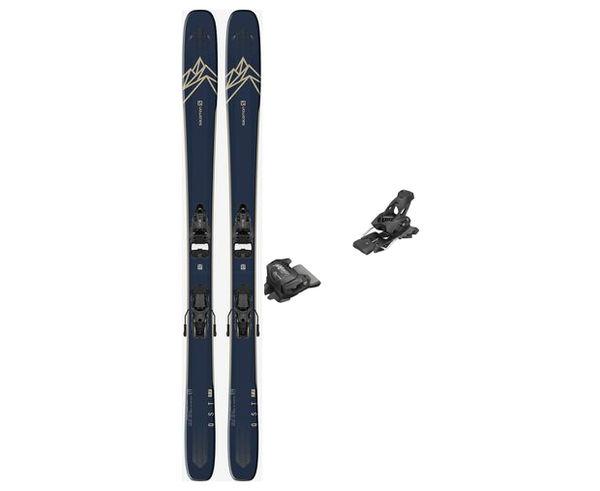 Esquís+Fixacions Marca SALOMON Per . Activitat esportiva Freeski, Article: T QST 99 + ATTACK 13 GW.