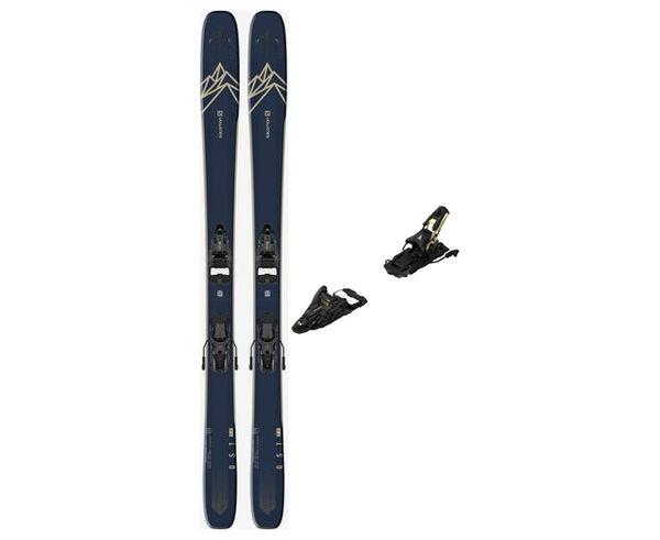 Esquís+Fixacions Marca SALOMON Per . Activitat esportiva Freeski, Article: T QST 99 + N SHIFT 13 MNC 120.