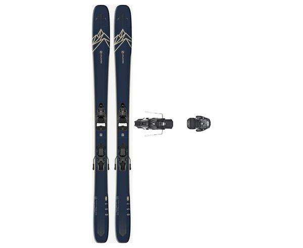 Esquís+Fixacions Marca SALOMON Per . Activitat esportiva Freeski, Article: T QST 99 + WARDEN MNC 13 130.