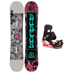 Taules+Fixacions Marca BURTON Per . Activitat esportiva Snowboard, Article: DESCENDANT + FREESTYLE.