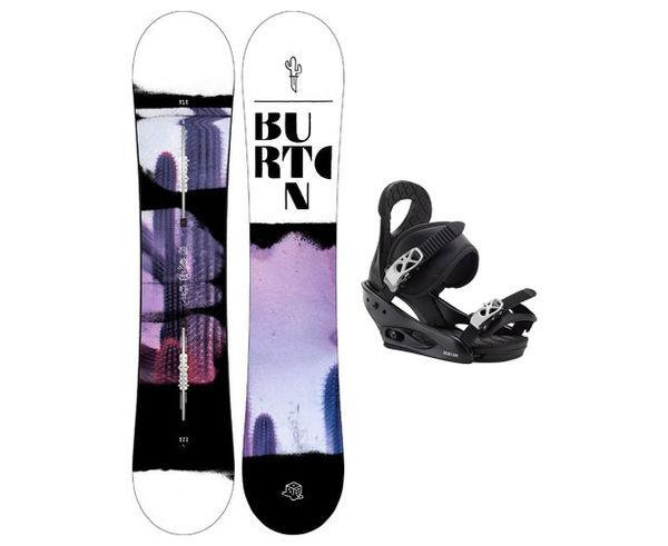 Taules+Fixacions Marca BURTON Per Dona. Activitat esportiva Snowboard, Article: STYLUS + CITIZEN.