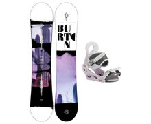 Taules+Fixacions Marca BURTON Per . Activitat esportiva Snowboard, Article: STYLUS + CITIZEN.
