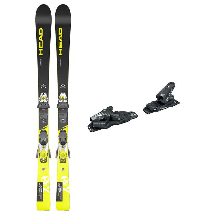 Esquís Marca HEAD Per Nens. Activitat esportiva Esquí Race FIS, Article: WC I.RACE TEAM SLR PRO + SLR 4.5 GW AC.