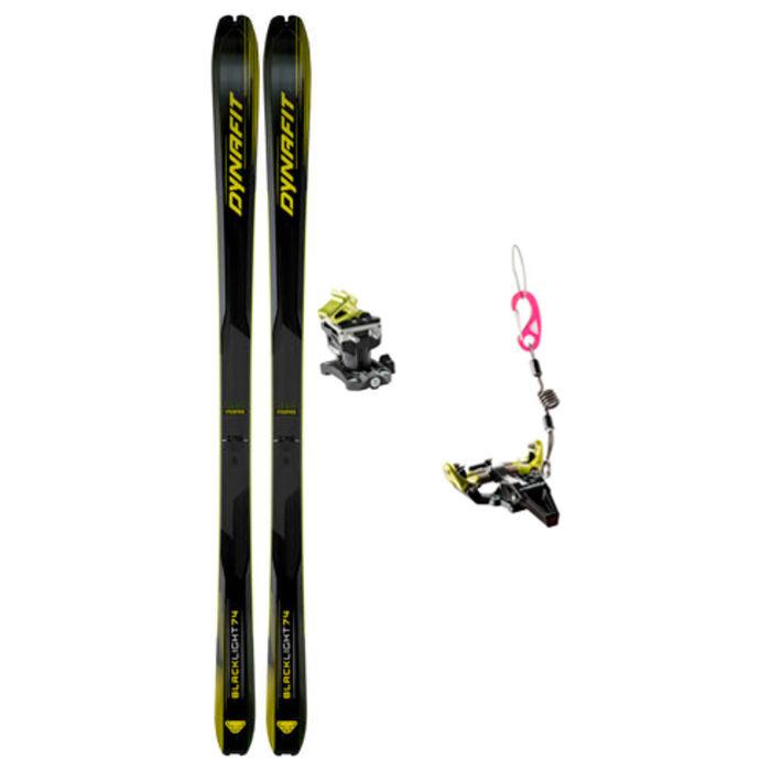 Esquís+Fixacions Marca DYNAFIT Per . Activitat esportiva Esquí Muntanya, Article: BLACKLIGHT 74 + SPEED RADICAL.