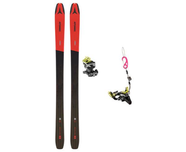 Esquís+Fixacions Marca ATOMIC Per . Activitat esportiva Esquí Muntanya, Article: BACKLAND 78 H20 + SPEED RADICAL.