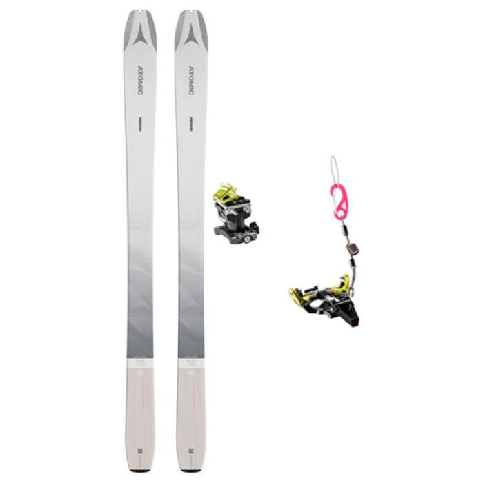 Esquís+Fixacions Marca ATOMIC Per Unisex. Activitat esportiva Esquí Muntanya, Article: BACKLAND 78 W H20 + SPEED RADICAL.